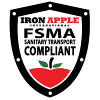 Iron Apple Badge FSMA Compliant