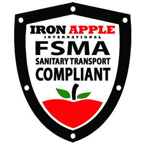 Iron Apple - Decal - FSMA COMPLIANT