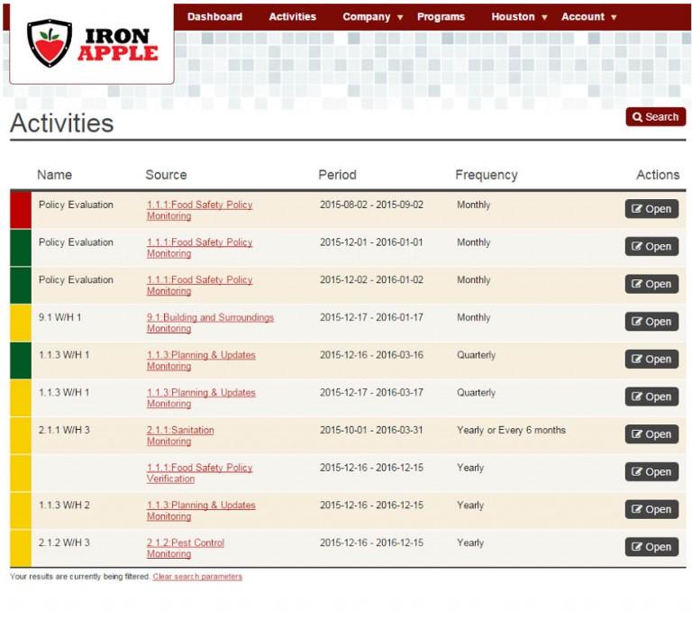 TFSP Update - Activities 1