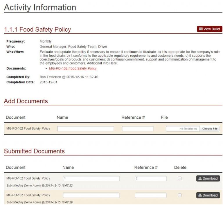 TFSP Update - Activities 2