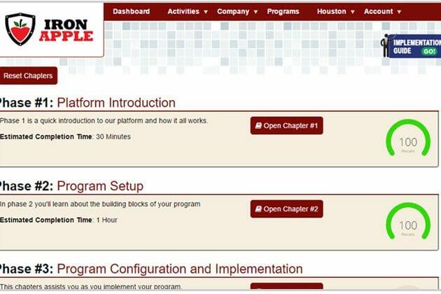 Iron Apple Software Update