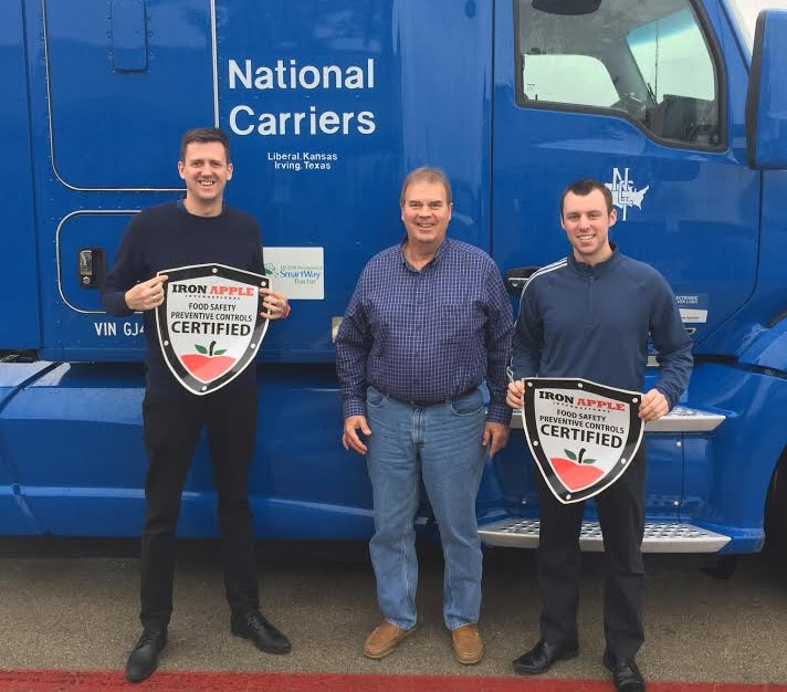 National Carriers & Iron Apple Team