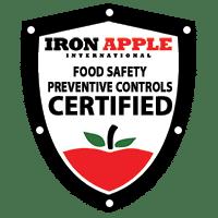 Iron Apple FSMA & Preventive Controls Compliance Badge