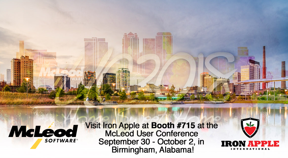 Iron Apple Attending McLeod UC2018 In Birmingham Sep 30 - Oct 2
