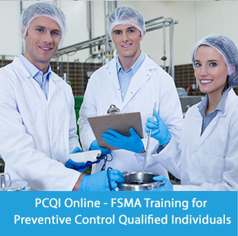 PCQI Training - FSMA Training for Preventive Control Qualified Individuals