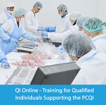 QI Training - FSMA Training for Qualified Individuals Supporting the PCQI