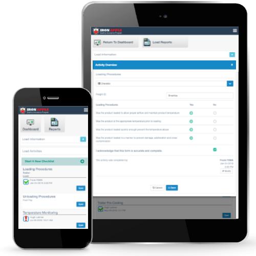 Iron Apple Quality Assurance Program for Transportation Mobile & Tablet