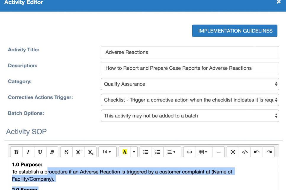 Document Modifications