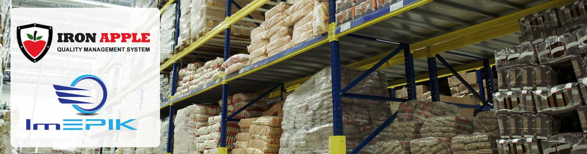 Iron Apple QMS for Food Storage & Warehouse & ImEpik Food Safety Training